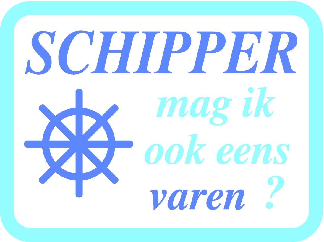 Schipper mag ik ook eens varen?